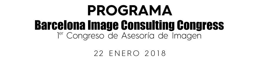 Barcelona Image Consulting Congress - Programa