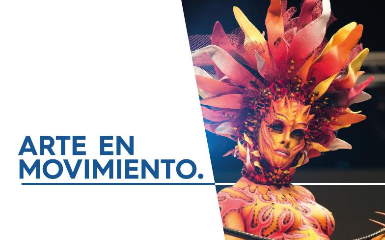 Cosmobeauty Barcelona - Bodypainting - Arte en Movimiento