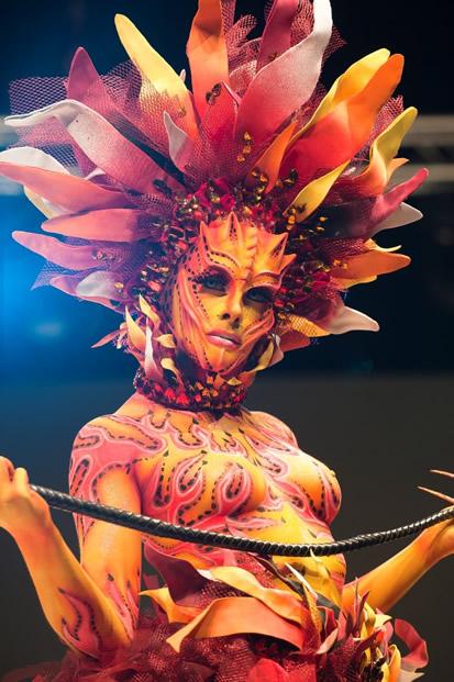 Cosmobeauty Barcelona - Podium Beauty Barcelona - Bodypainting