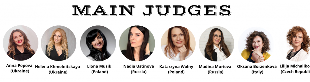 MAIN JUDGES